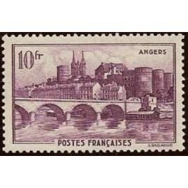 France num Yvert 500 ** MNH Angers Année 1941