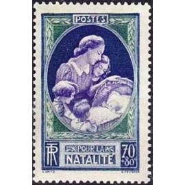 France num Yvert 440 ** MNH Enfant Année 1939