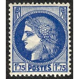 France num Yvert 372 ** MNH Type ceres Année 1938