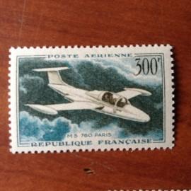 France PA Avion Num Yvert 35* Morane Saulnier