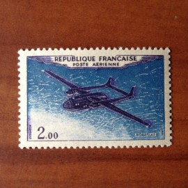 France PA Avion Num Yvert 38** MNH Brun Noir et Outremer