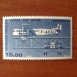 France PA Avion Num Yvert 57b** MNH Farman F 60 Goliath