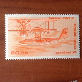 France PA Avion Num Yvert 58** MNH Hydravion Cams 53