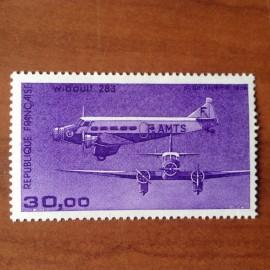 France PA Avion Num Yvert 59** MNH Trimoteur Wibault 283