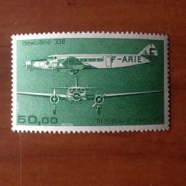 France PA Avion Num Yvert 60** MNH Trimoteur Dewoitine 338