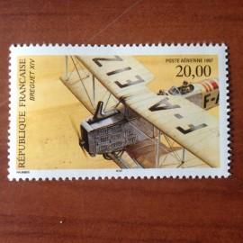 France PA Avion Num Yvert 61** MNH Breguet XIV