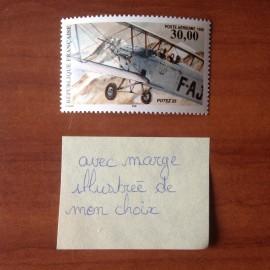 France PA Avion Num Yvert 62a** MNH Biplan Potez 26