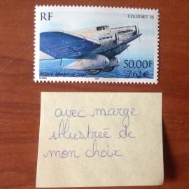 France PA Avion Num Yvert 64a** MNH Couzinet 71