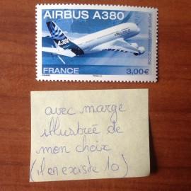 France PA Avion Num Yvert 69a** MNH Airbus A381