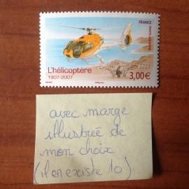 France PA Avion Num Yvert 70a** MNH Hélicoptère Cornu