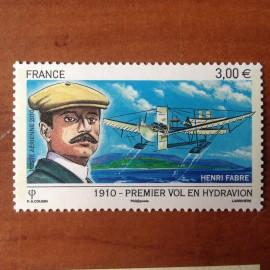 France PA Avion Num Yvert 73** MNH Vol en Hydravion Henri Fabre