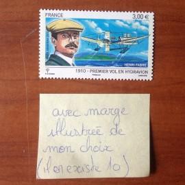 France PA Avion Num Yvert 73a** MNH Vol en Hydravion Henri Fabre