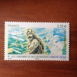 France PA Avion Num Yvert 76** MNH Adolphe Pegoud parachute