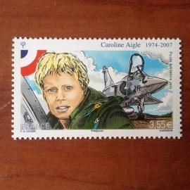 France PA Avion Num Yvert 78** MNH Caroline Aigle mirage 2000