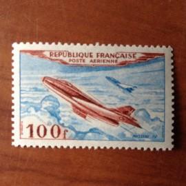 France PA Avion Num Yvert 30** MNH Mystere IV