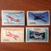 France PA Avion Num Yvert 30-33** MNH Prototypes