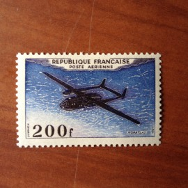 France PA Avion Num Yvert 31** MNH Noratlas