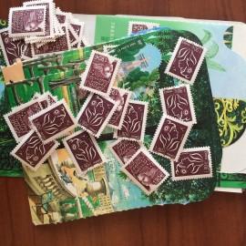 Sous Faciale100 timbres à 2,11Eurosoit211 euro