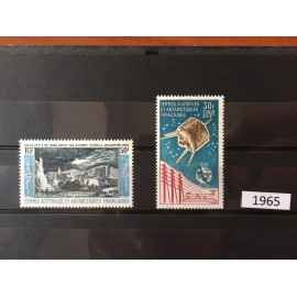 TAAF ** 1965 ANNEE COMPLETE MNH  sans charniere luxe