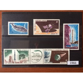 TAAF ** 1966 ANNEE COMPLETE MNH