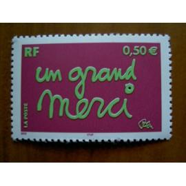 France num Yvert 3637 ** MNH Année 2004 Merci