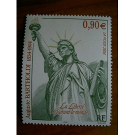 France num Yvert 3639 ** MNH Année 2004 Bartholdi Statue Liberté