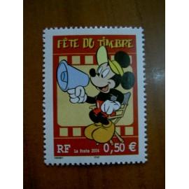 France num Yvert 3641 ** MNH Année 2004 Disney Mickey