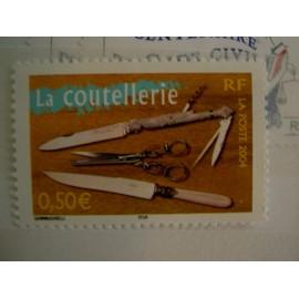 France num Yvert 3646 ** MNH Année 2004 Coutellerie