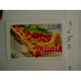 France num Yvert 3652 ** MNH Année 2004 Quiche cuisine