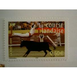 France num Yvert 3653 ** MNH Année 2004 course taureau lande corrida