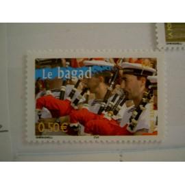 France num Yvert 3655 ** MNH Année 2004 Bagad cornemuse
