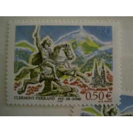 France num Yvert 3656 ** MNH Année 2004 Clermont-ferrand bartholdi vercingétorix