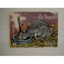 France num Yvert 3662 ** MNH Année 2004 Lapin