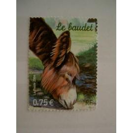 France num Yvert 3665 ** MNH Année 2004 Baudet