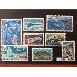 TAAF ** 1969 ANNEE COMPLETE MNH