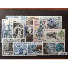TAAF ** 1979 ANNEE COMPLETE MNH
