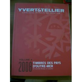 OUTRE MER VOLUME 4 GUINEE BISSAU A LESOTHO 2008