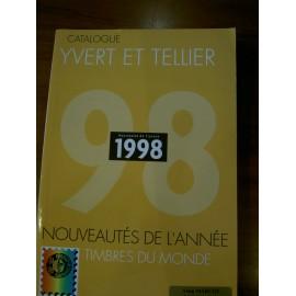 LES TIMBRES DE L'ANNEE 1998