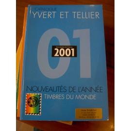 LES TIMBRES DE L'ANNEE 2001