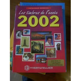 LES TIMBRES DE L'ANNEE 2002