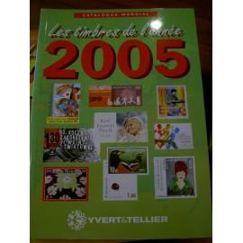 LES TIMBRES DE L'ANNEE 2005