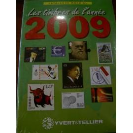LES TIMBRES DE L'ANNEE 2009