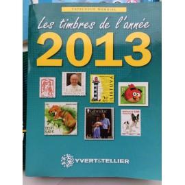 LES TIMBRES DE L'ANNEE 2013