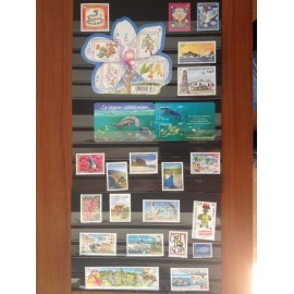 NOUVELLE CALEDONIE ** 2013 ANNEE COMPLETE MNH sauf 1174A-74B, 1187A-87B, 1206-07