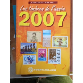 LES TIMBRES DE L'ANNEE 2007