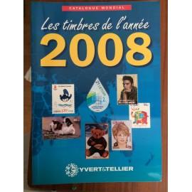LES TIMBRES DE L'ANNEE 2008