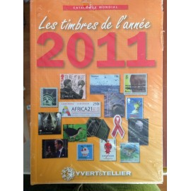 LES TIMBRES DE L'ANNEE 2011