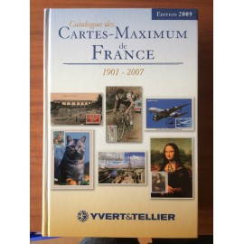 Catalogue des cartes-maximum de France edition 2009