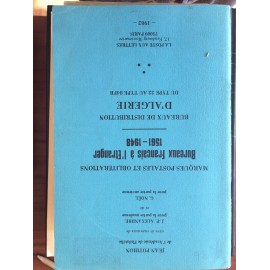 Catalogue Pothion cachets Bureaux français à l'etranger et d'Algérie - 1982 Alexandre et Noel