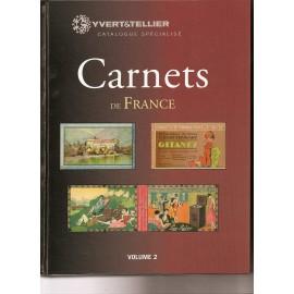 CARNET de FRANCE Volume 1 de 1906 à 1926 type blanc et semeuse